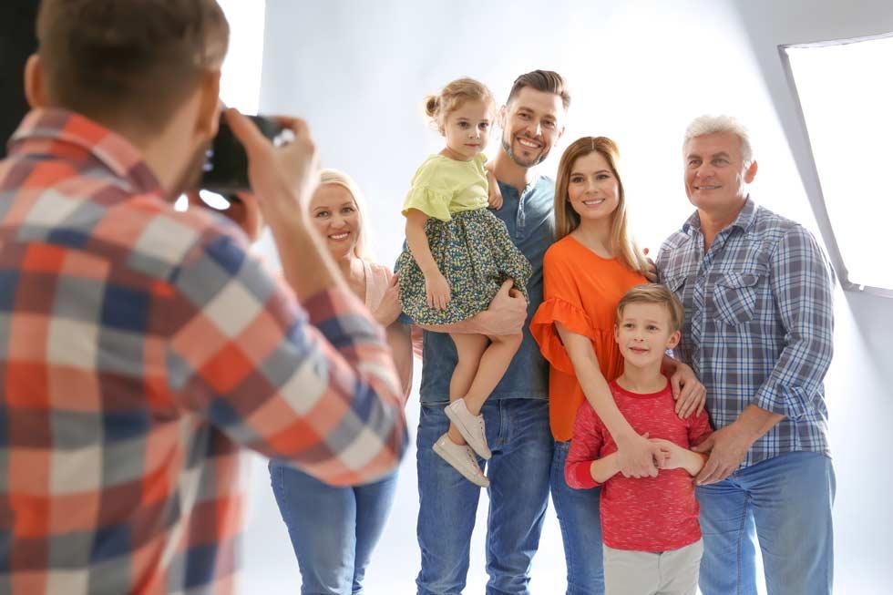 Fotograf in Hamburg beim Familien-Shooting